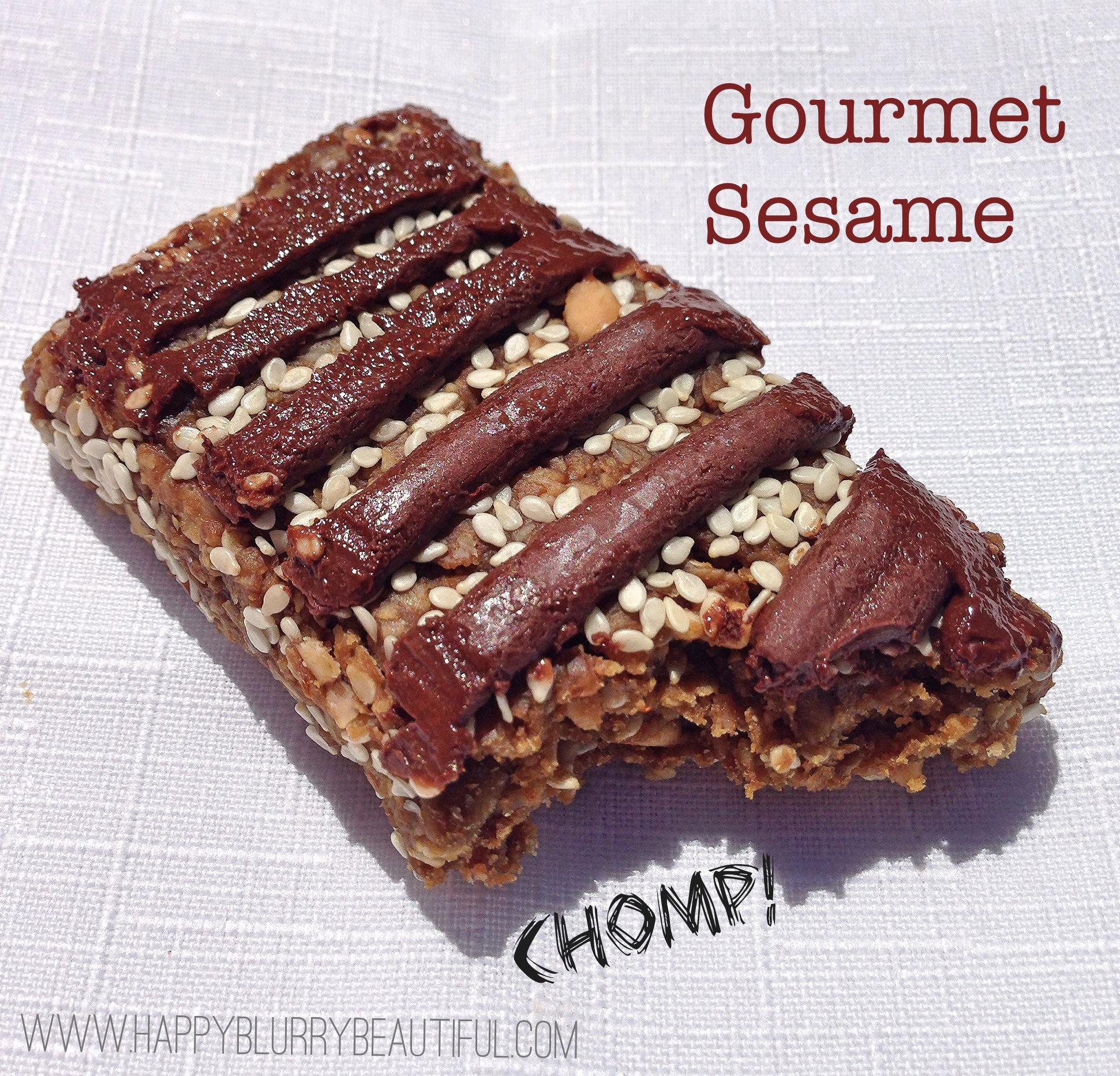 Ingredients in meta health bars -  Gourmet Sesame
