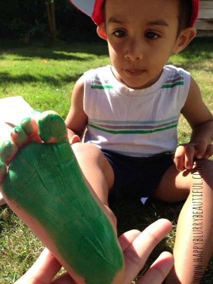 footpainting