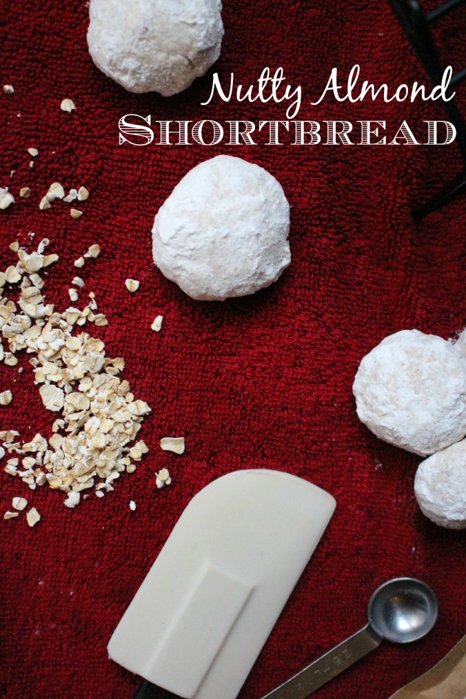 nutty almond shortbread cover
