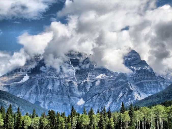 Mount Robson, BC (c) David Spender, CC by 2.0