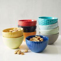 west elm textured dip bowls